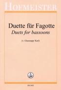 Duette Für Fagotte Partition Duos - laflutedepan.com