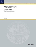 Quartetto (2010) Olli Mustonen Partition Quatuors - laflutedepan.com