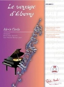Le Voyage d'Ebony Partition Clarinette - laflutedepan.com