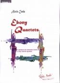 Ebony Quartets Alexis Ciesla Partition Clarinette - laflutedepan.com