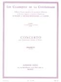 Concerto Domenico Dragonetti Partition Contrebasse - laflutedepan.com