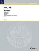 Pavane Opus 50 Gabriel Fauré Partition Trios - laflutedepan.com