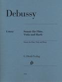 Sonate Pour Flute, Alto et Harpe - Parties DEBUSSY laflutedepan.com