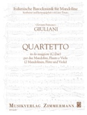 Quartetto en Do Majeur - laflutedepan.com