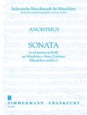 Sonate en Sol Mineur - Partition - Mandoline - laflutedepan.com