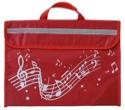 Cartable à Musique - Rouge - Accessoire - laflutedepan.com