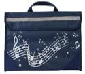 Cartable à Musique - Bleu Marine - Accessoire - laflutedepan.com