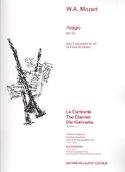 Adagio, Kv 411 - 2 Clarinettes / 3 Cors de Basset laflutedepan.com
