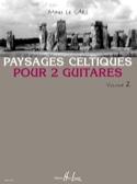 Paysages Celtiques pour 2 guitares Volume 2 laflutedepan.com