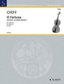 O Fortuna - Carl Orff - Partition - Alto - laflutedepan.com