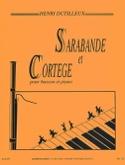Sarabande et Cortège - Henri Dutilleux - Partition - laflutedepan.com