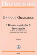 3 Danzas españolas & Intermedio Enrique Granados laflutedepan.com