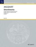 Divertimento No. 1, KV 439b MOZART Partition Trios - laflutedepan.com