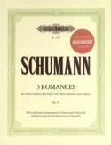 3 Romances, op. 94 - Hautbois (Violon) et Piano - laflutedepan.com