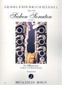 7 sonates de l'opus 1 HAENDEL Partition Clarinette - laflutedepan.com