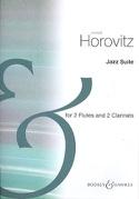 Jazz Suite Joseph Horovitz Partition Quatuors - laflutedepan.com