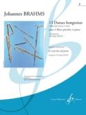 13 danses hongroises - Cahier 2 BRAHMS Partition laflutedepan.com
