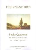 Quartett op 145 n°1 C-Dur - Partitur mit Stimmen - laflutedepan.com