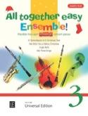 All together easy Ensemble ! volume 3 Partition laflutedepan.com