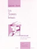 Berceuse op. 16 Gabriel Fauré Partition Violon - laflutedepan.com