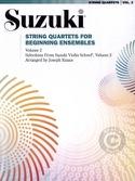 String Quartets for Beginning Ensembles Volume 2 - laflutedepan.com