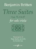 3 suites for solo viola - Benjamin Britten - laflutedepan.com