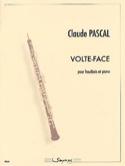 Volte-face - Claude Pascal - Partition - Hautbois - laflutedepan.com