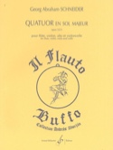 Quatuor en sol majeur - Opus 52/3 laflutedepan.com
