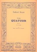 Quatuor n° 1 op. 15 ut mineur - Parties Gabriel Fauré laflutedepan.com