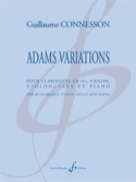 Adams Variations - Guillaume Connesson - Partition - laflutedepan.com