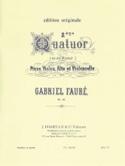Quatuor n° 2 op. 45 (sol mineur) –Parties - laflutedepan.com