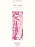 Sicilienne Op. 78 - Gabriel Fauré - Partition - laflutedepan.com