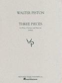 Three Pieces Walter Piston Partition Trios - laflutedepan.com