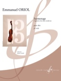 Surmenage - Emmanuel Oriol - Partition - Alto - laflutedepan.com