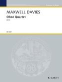 Oboe Quartet Davies Peter Maxwell Partition laflutedepan.com