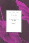 10 pieces for Violin and Piano - Vol. 1 ELGAR laflutedepan.com