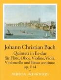 Quintette Es-Dur op 11 n° 4 Johann Christian Bach laflutedepan.com