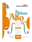 Je débute l'Alto - Volume 2 Valérie Bime-Apparailly laflutedepan.com