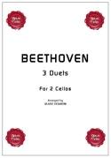 3 duets for 2 cellos BEETHOVEN Partition laflutedepan.com