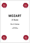 2 duos for 2 cellos MOZART Partition Violoncelle - laflutedepan.com