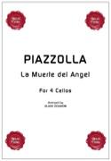 La Muerte del Angel - 4 Violoncelles Astor Piazzolla laflutedepan.com