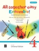 All together easy Ensemble! - Volume 4 James Rae laflutedepan.com