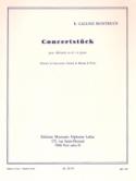 Concertstuck Raymond Gallois-Montbrun Partition laflutedepan.com