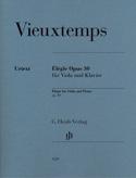 Elégie Henri Vieuxtemps Partition Alto - laflutedepan.com