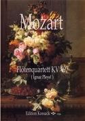 Quatuor Kv 497 - Flûte et Trio à Cordes MOZART laflutedepan.com