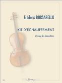 Kit d'échauffement a l'usage des violoncellistes laflutedepan.com