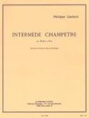 Intermède champêtre - Philippe Gaubert - Partition - laflutedepan.com