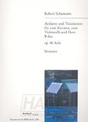 Andante et Variations Sib Majeur op. 46 Anh. SCHUMANN laflutedepan.com
