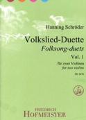 Volkslied-Duette, Vol. 1 - 2 Violons Partition laflutedepan.com