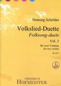 Volkslied-Duette, vol. 2 - 2 violons Partition laflutedepan.com